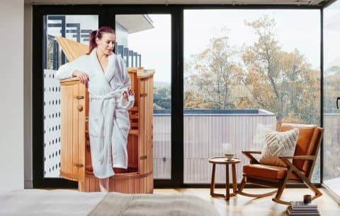 Heabalsauna, sauna umeda pentru acasa